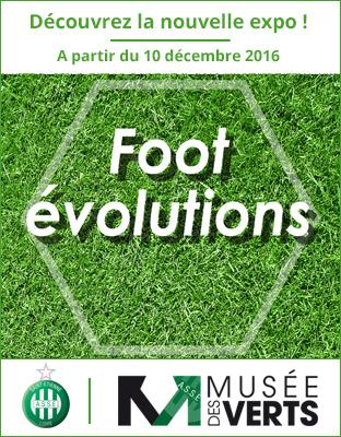 L'exposition temporaire Foot évolutions