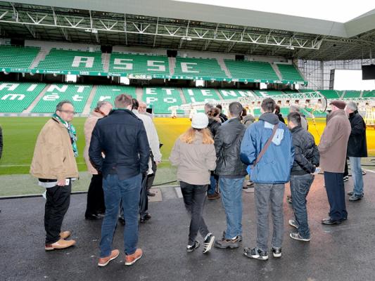 Visite audioguidée du Musée des Verts et guidée du Stade Geoffroy-Guichard (Musée des Verts)